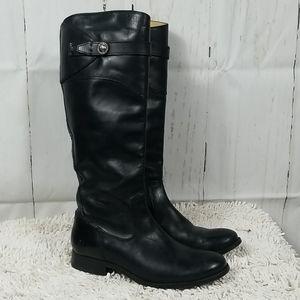 Frye black riding boots